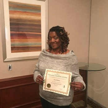 Erica's Certification
